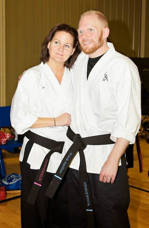 Julianne Dwyer is a martial arts instructor at Action Karate Plymouth