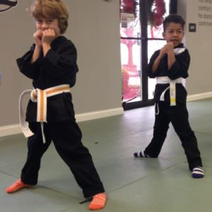Action Karate Plymouth offers karate classes for young students.