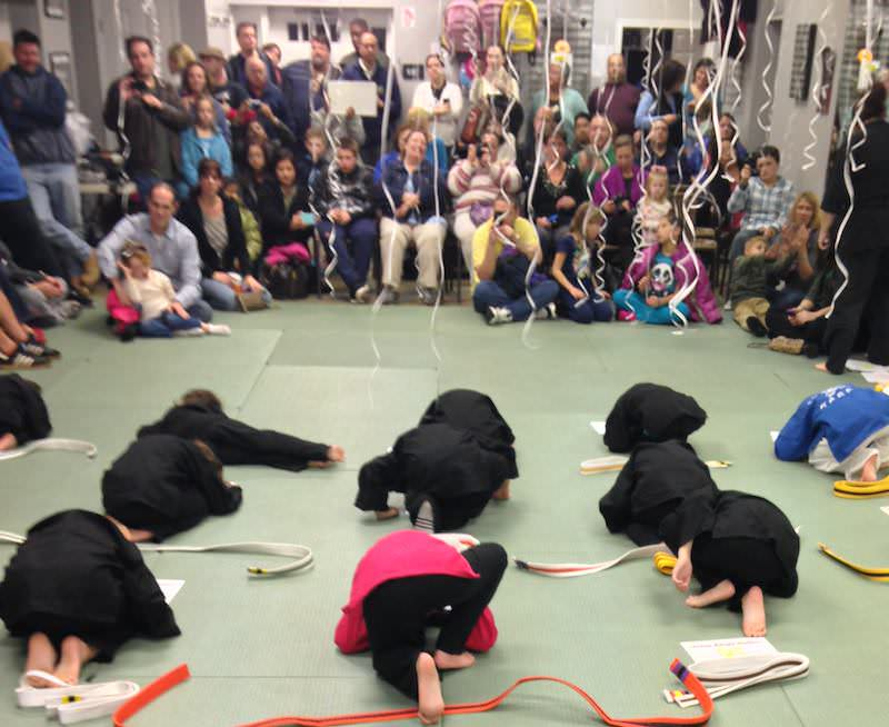 Action Karate Plymouth recently hosted a promotion ceremony for students.