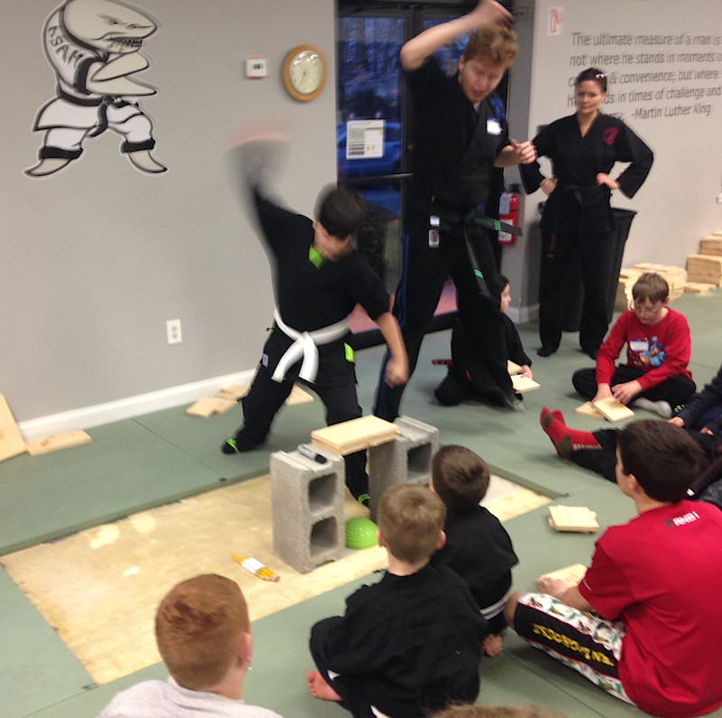 Goal Setting Guide - Board Breaking at Action Karate Plymouth