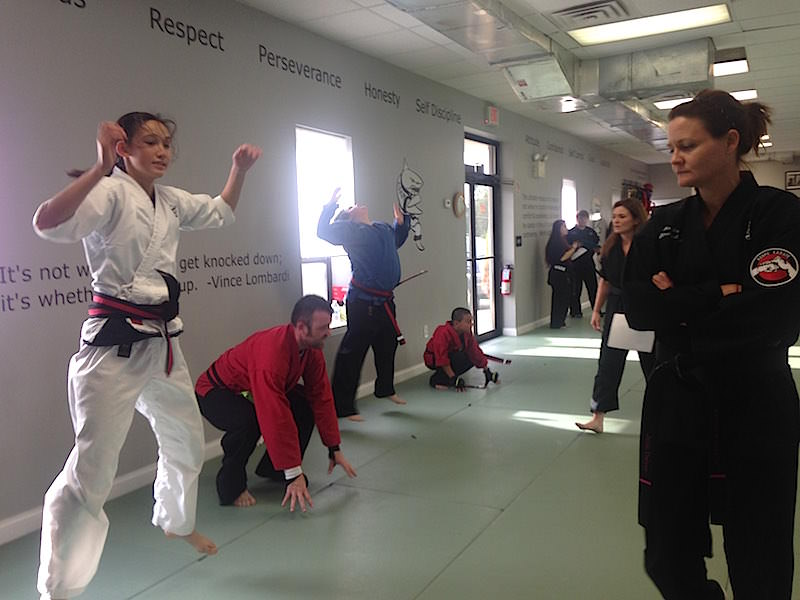 Black Belt Pre-Test At Action Karate Plymouth