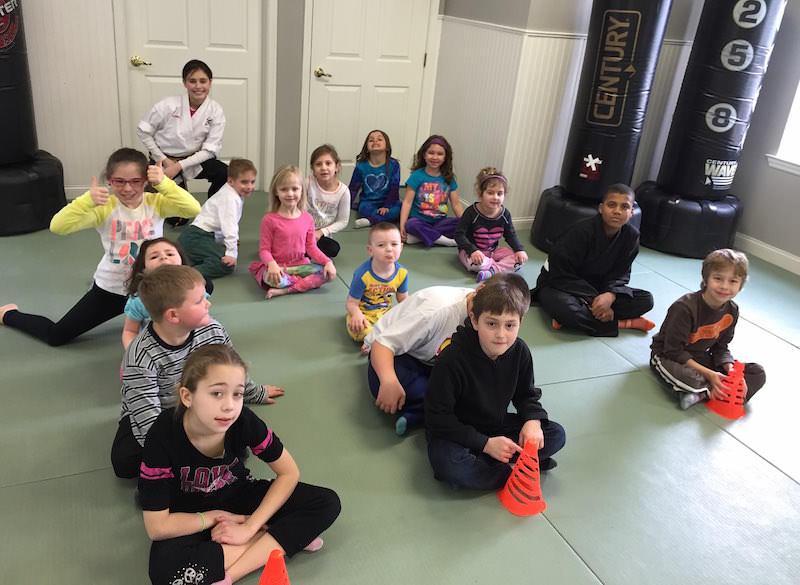 Camp at Action Karate Plymouth