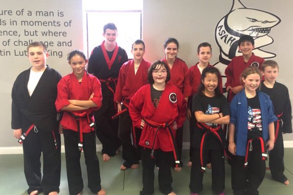 Overcoming Adversity - Black Belt Test